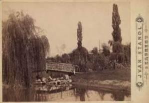 Botanički vrt - most preko jezera / Ivan Standl