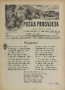 Pučka prosvjeta : list za pouku i zabavu / [urednik Stjepan Ortner]