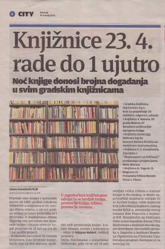 Noć knjige 2012.