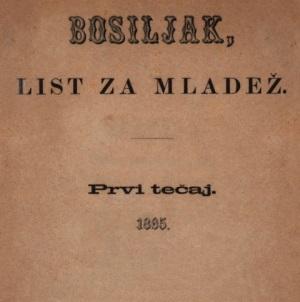 Bosiljak : list za mladež / urednik i vlastnik Ivan Filipović