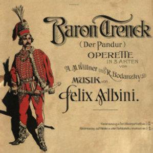 Baron Trenck : (der Pandur) : Operette in 3 Akten / Musik von Felix Albini ; [libretto] A. M. Willner und R. Bodanzky ; preveo M. S.
