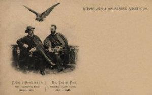 Utemeljitelji hrvatskog sokolstva : Franjo Hochmann : Dr. Josip Fon / R. Mosinger