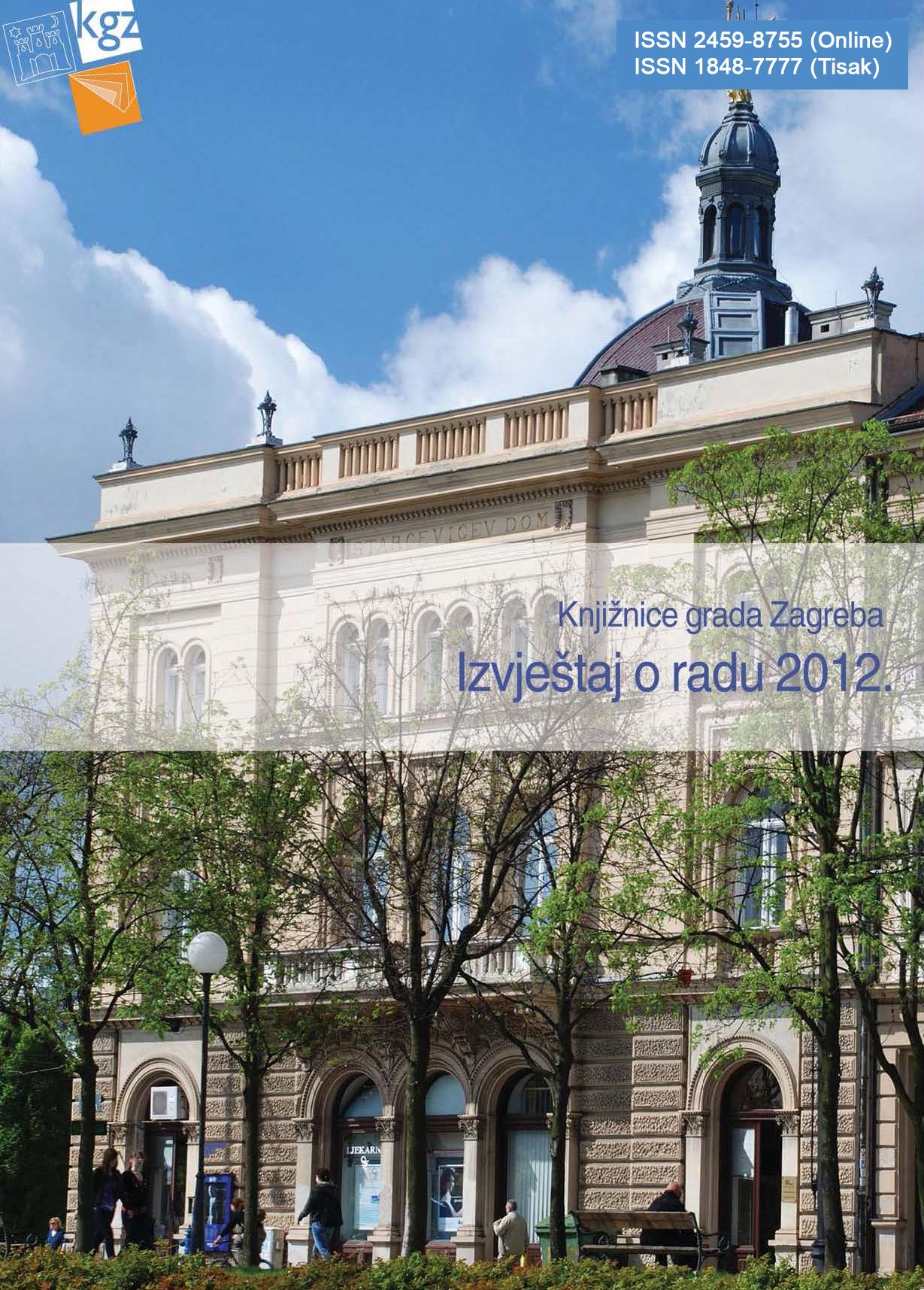 Izvještaj o radu 2012.