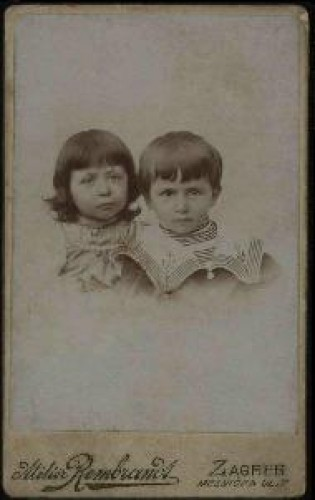 Portret djevojčice i dječaka / Atelier Rembrandt