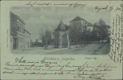 Pozdrav iz Zagreba : Kipni trg