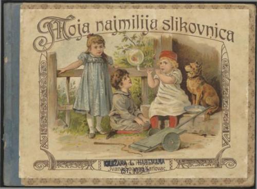 Moja najmilija slikovnica : pjesmice / napisao Stjepan Širola
