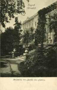 Zagreb (Croatie) : Botanički vrt - Jardin des plantes / R. Mosinger