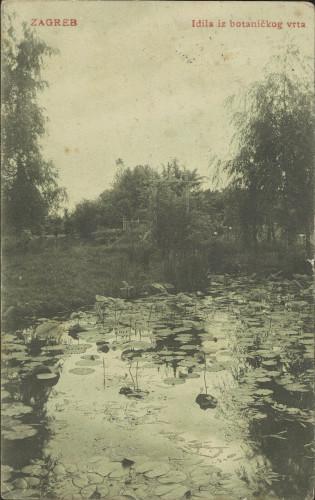 Zagreb : idila iz Botaničkog vrta
