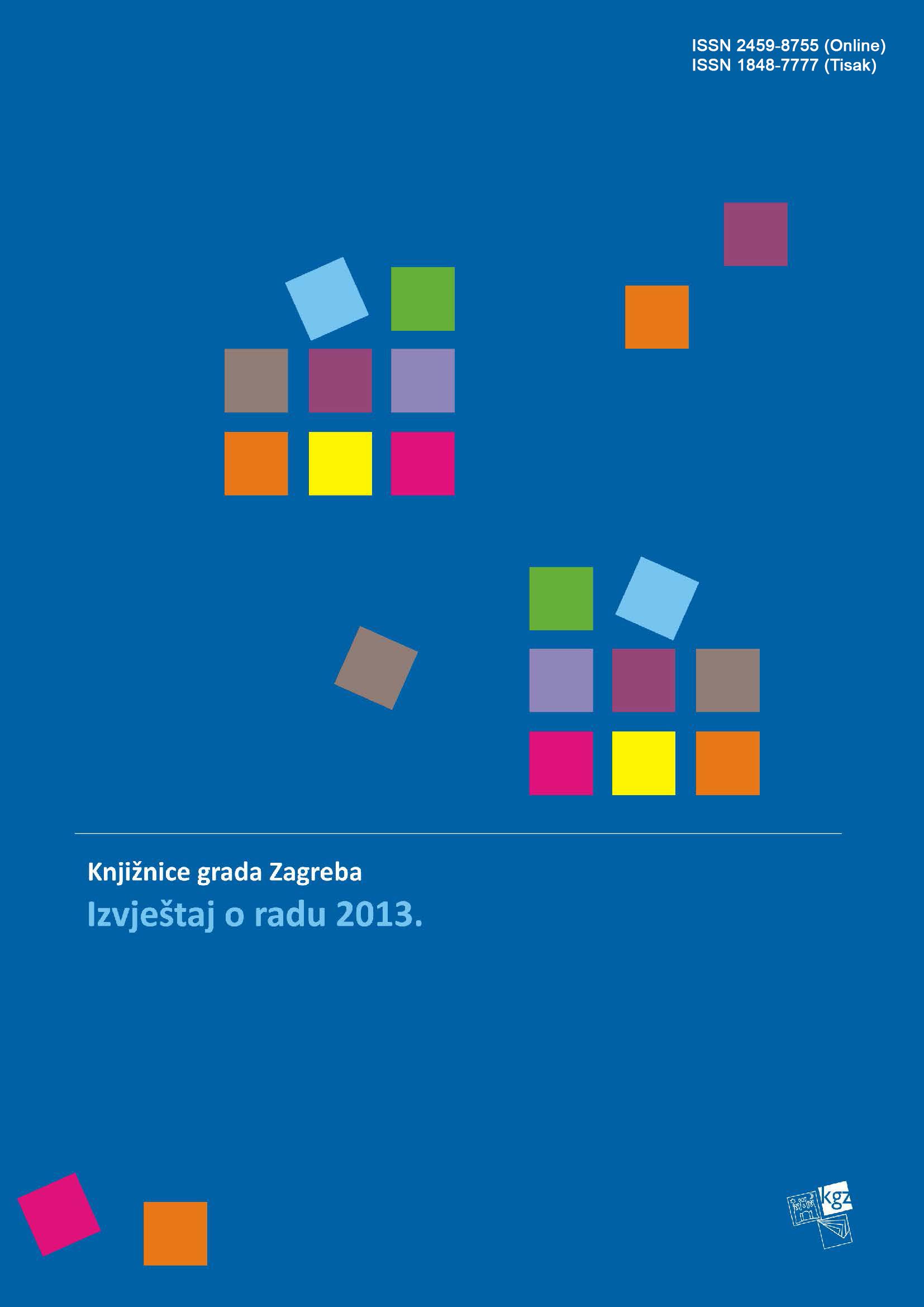 Izvještaj o radu 2013.