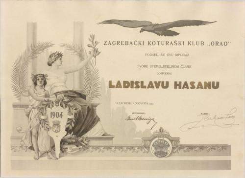 """Zagrebački koturaški klub """"Orao"""""""