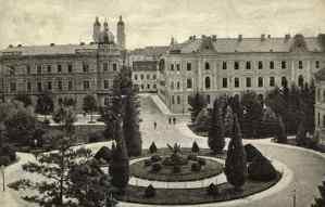 Zagreb (Croatie) : Akademički trg / Svjetlotiskarski zavod R. Mosinger