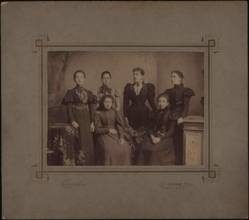 Skupni portret šest ženskih osoba / Lafranchini