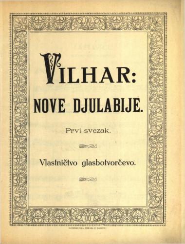 Nove djulabije : prvi svezak / Vilhar