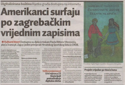 Amerikanci surfaju po zagrebačkim vrijednim zapisima