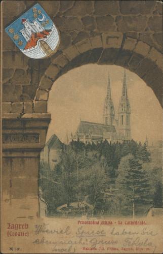 Zagreb (Croatie) : prvostolna crkva - la cathedrale