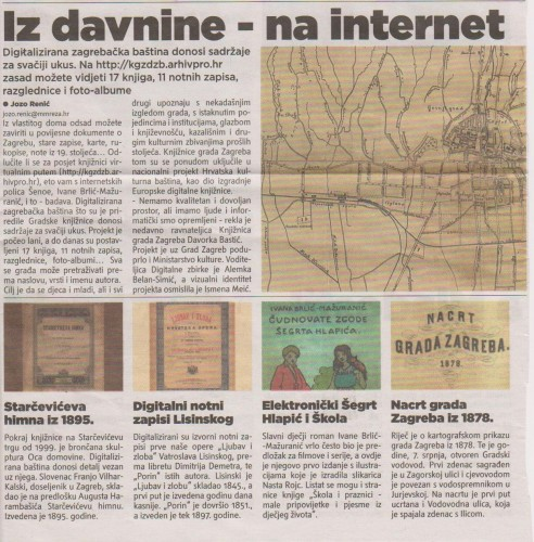 Iz davnine - na internet