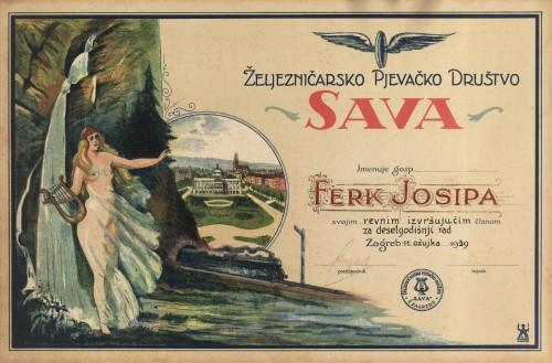 Željezničarsko pjevačko društvo