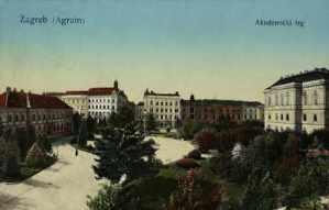 Zagreb (Agram) : Akademički trg