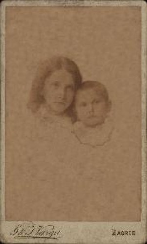 Portret dvoje djece / G. & I. Varga