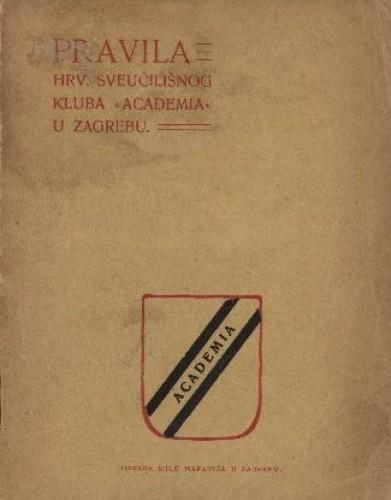 Pravila Hrv. sveučilišnog kluba