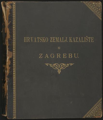 Hrvatsko zemalj. kazalište u Zagrebu.