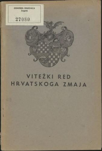 Vitežki Red Hrvatskoga Zmaja