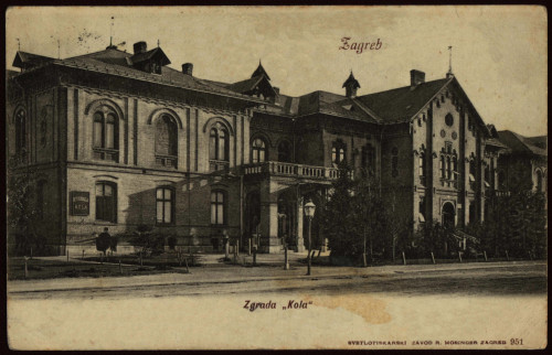 Zagreb : zgrada