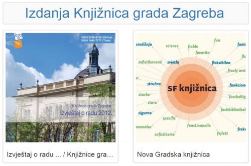 Izdanja Knjižnica grada Zagreba - E-knjige